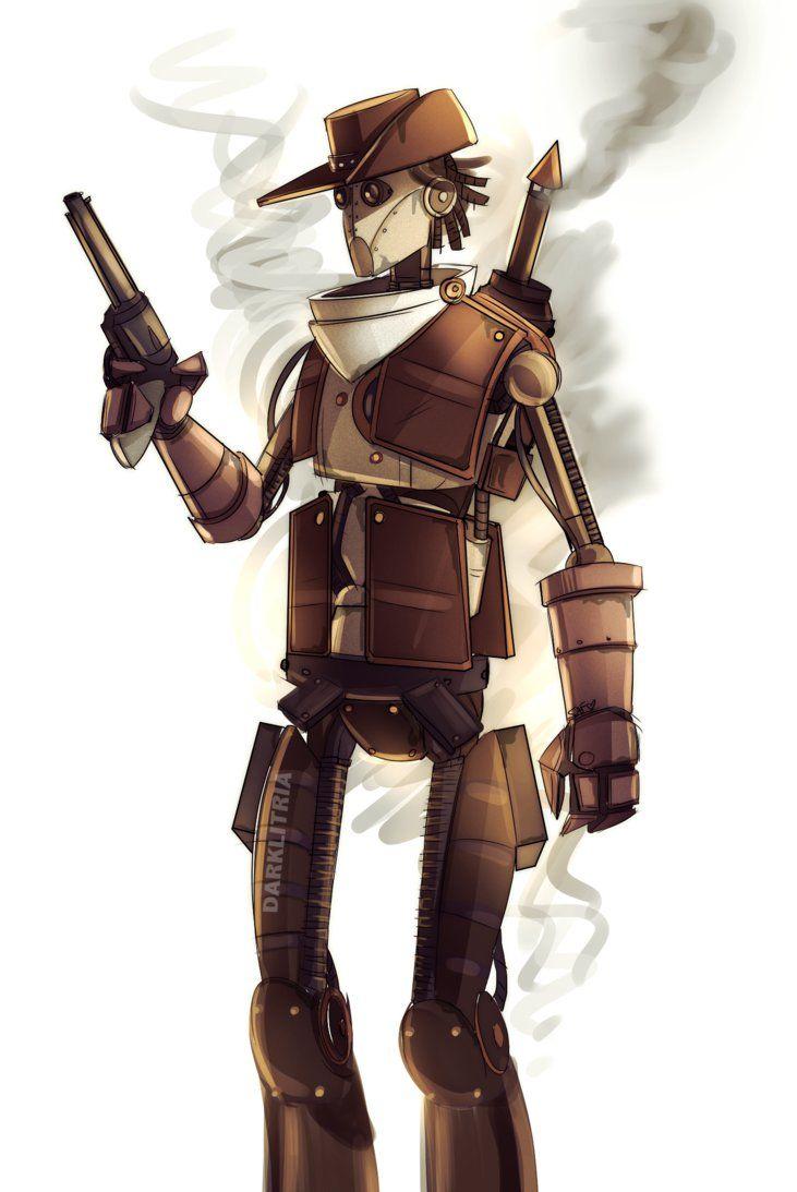 TF2: 1800s Steampunk bot scout by DarkLitria on deviantART