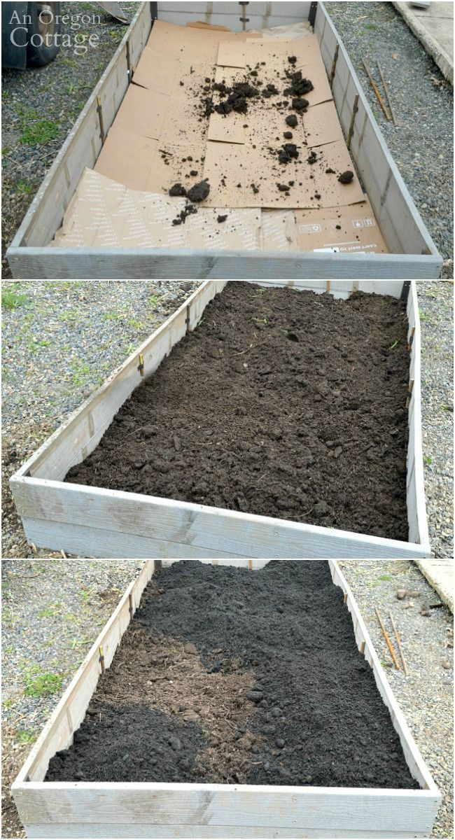 How to Build & Plant a Low Maintenance Raised Garden Bed | An Oregon Cottage