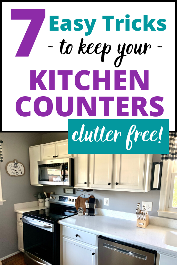 7 Clutter Free Kitchen Counter Organization Ideas Kitchen Counter Organization Clutter Free Kitchen Counter Clutter Free Kitchen