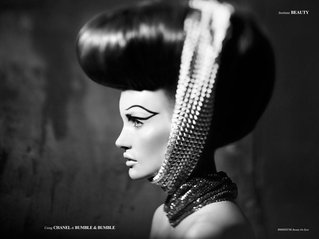 Beauty On Eyes - Photographed by Sebastian Lang
