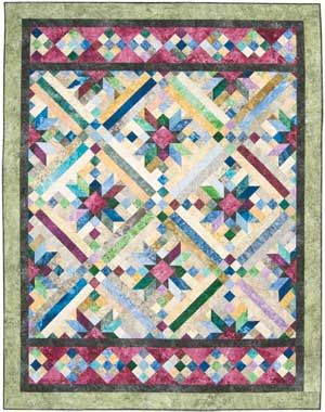 Spring Smokey River Quilt my next project in January at MBQP! Can ... : smokey river quilt kit - Adamdwight.com