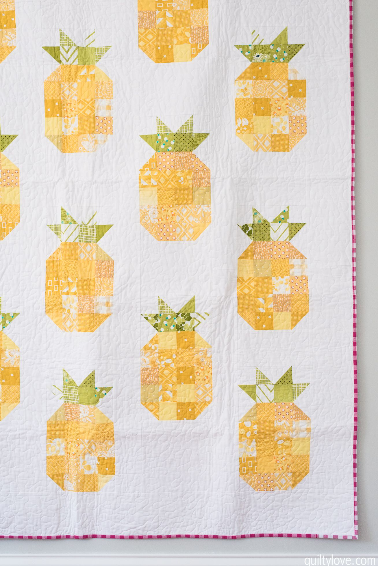 The Pineapple Quilt | Hobbies | Pinterest | Colchas, Patchwork and Telas