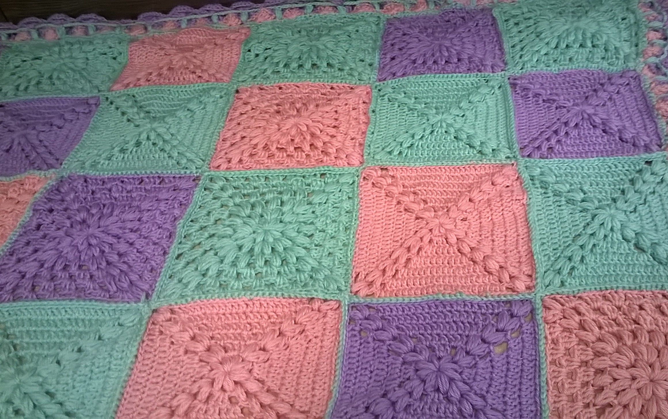 Finished Hugs And Kisses Baby Blanket Hand Made Creativity