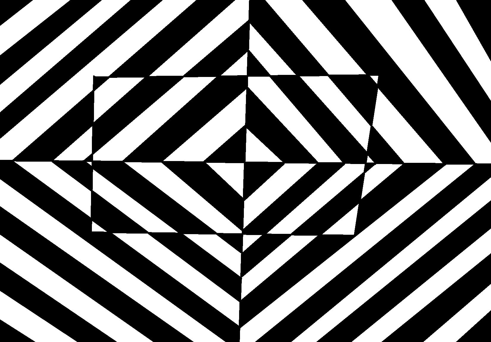 how to draw a simple optical illusion