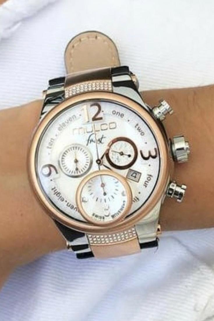 d2460b47409f Relojes Mulco Frost Ladies | Otoño MULCO | Reloj, Cristal de ...