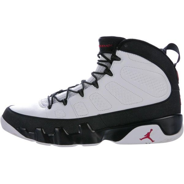 60694a5b080cb1 Pre-owned Nike Air Jordan 9 Retro Sneakers ( 375) ❤ liked on Polyvore  featuring men s fashion
