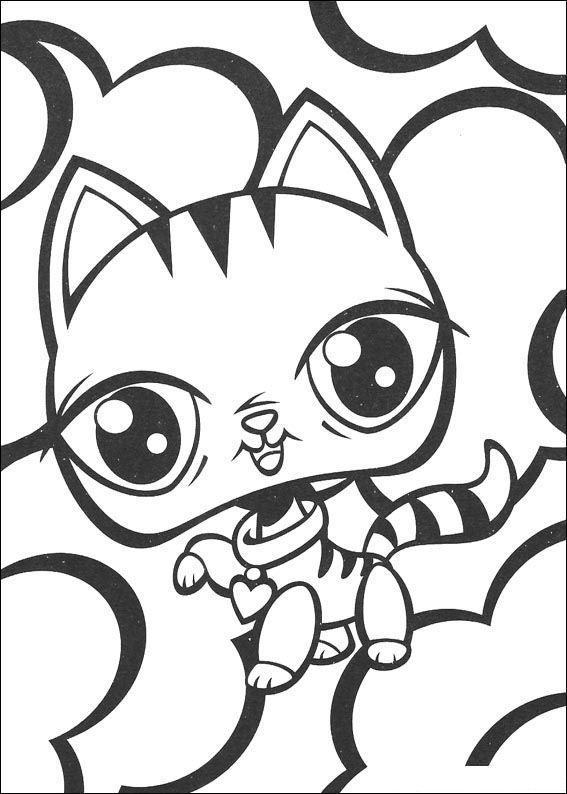 Coloring Page Littlest Pet Shop Littlest Pet Shop Coloriages