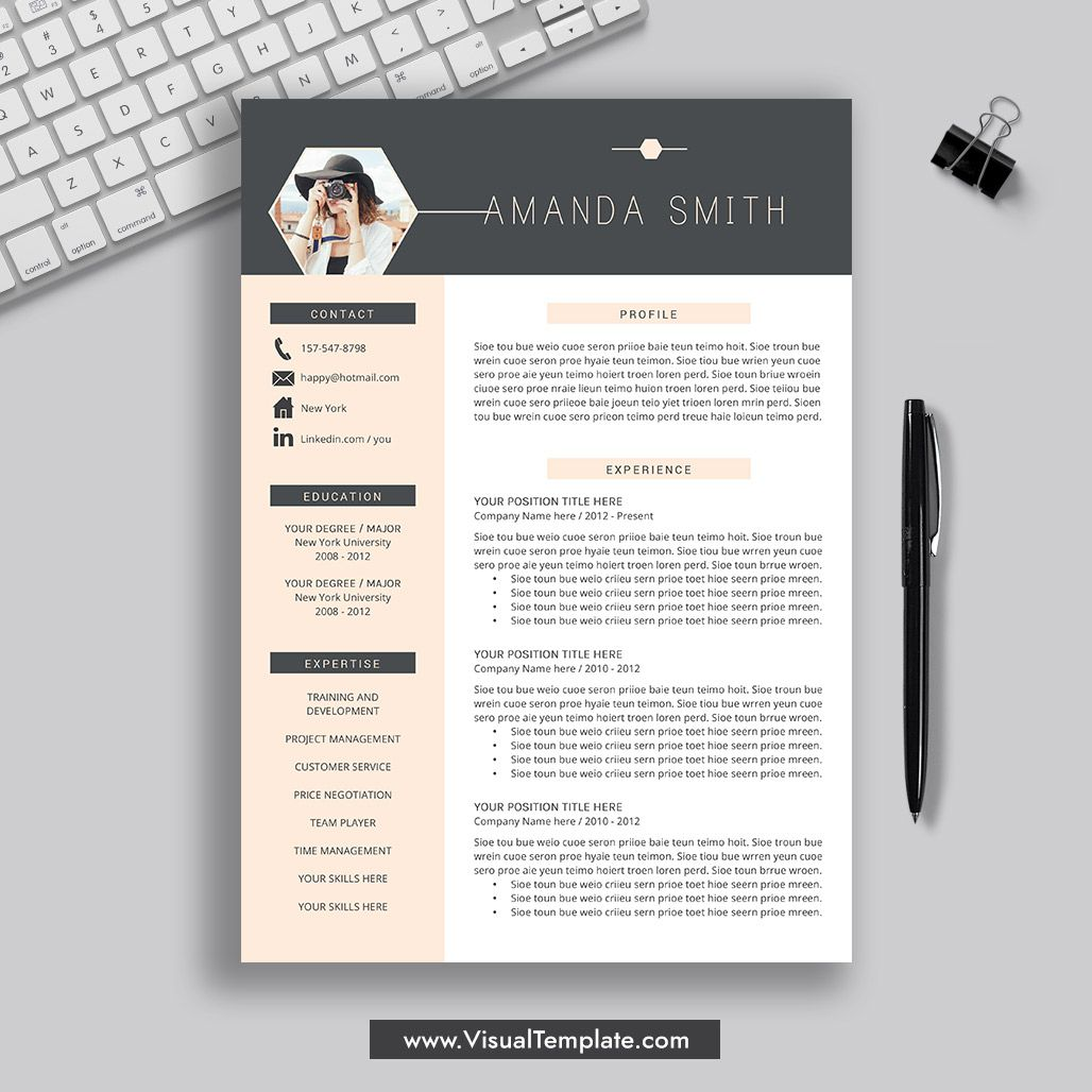 20212022 PreFormatted Resume Template with Resume Icons