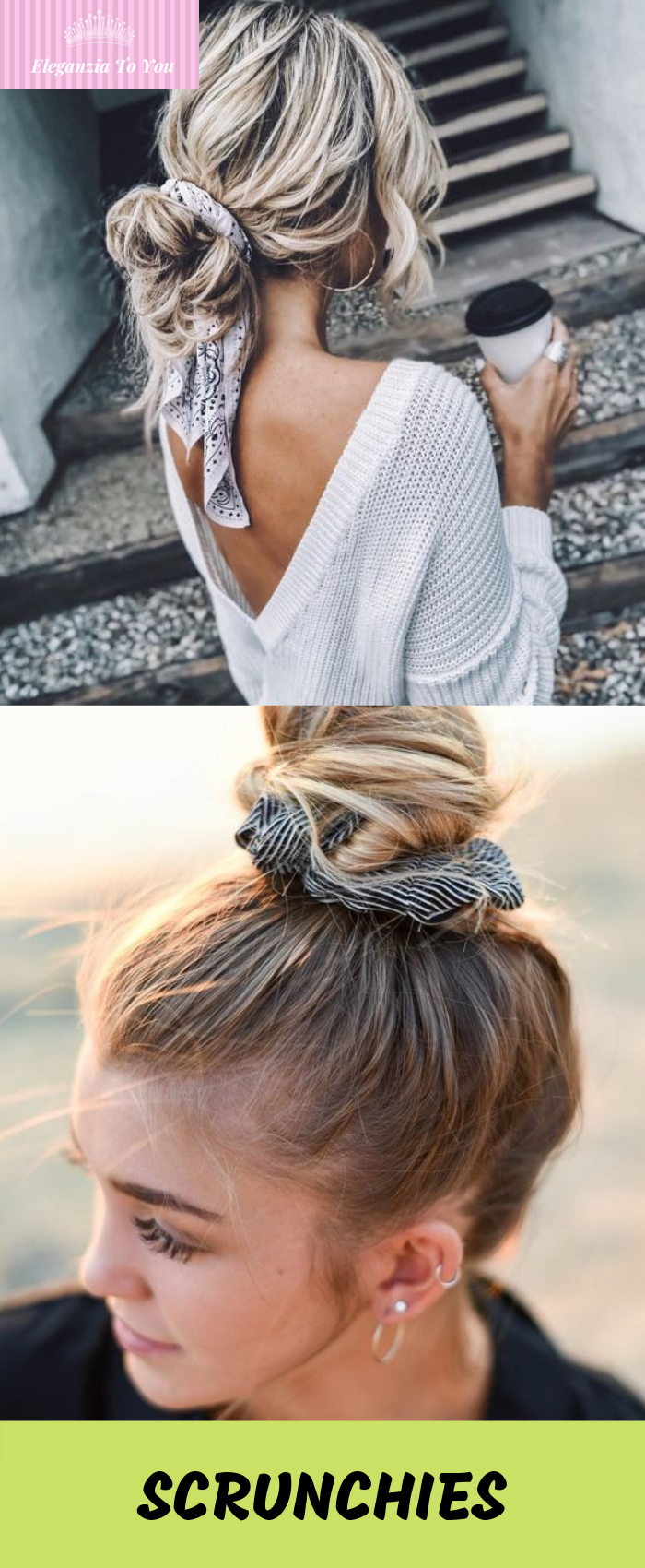 velvet scrunchies hair band | scrunchies hairstyles in 2019