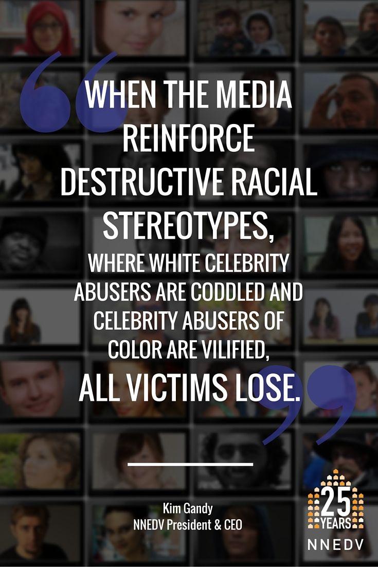 domestic violence in the media