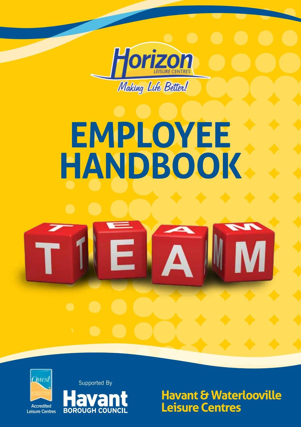 Image Result For Employee Handbook Cover Page