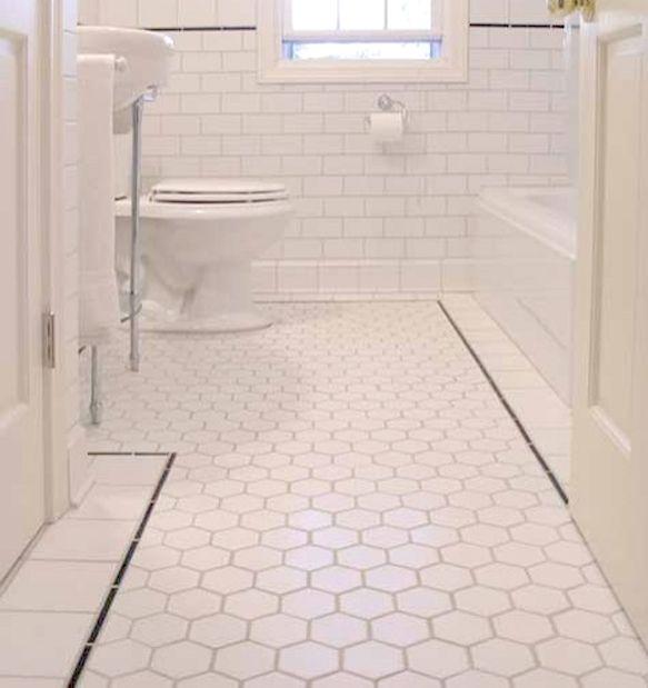 Cheap azulejos del ba o de mosaico blanco pared de la for Azulejos suelo bano