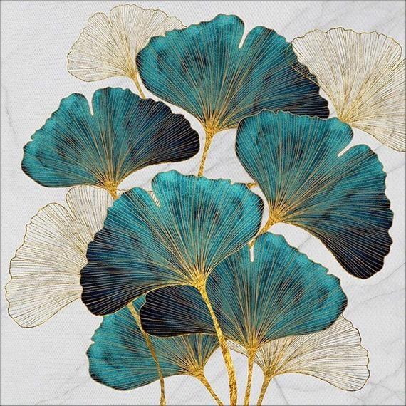 Beautiful Lotus Leaf DIY Diamond Painting Kits for