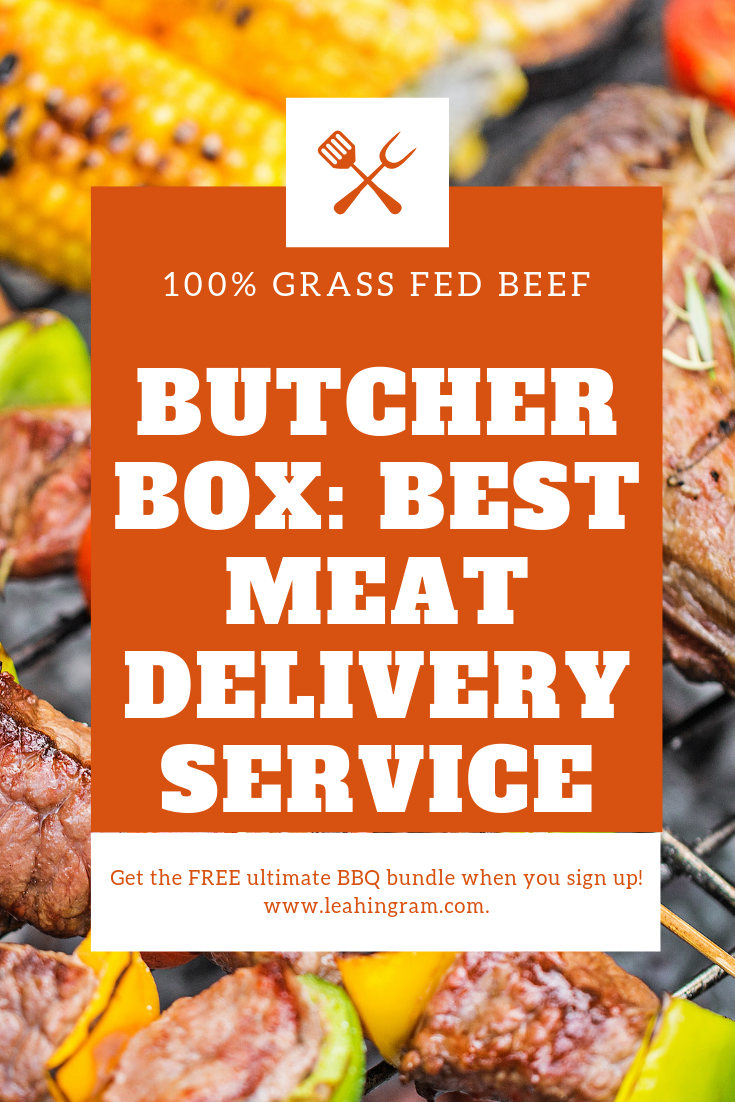 Why Is Butcher Box The Best Meat Delivery Service Because It Delivers Grass Fed Grass Finished Beef Free Ran Home Delivery Meals Best Meat Meat Delivery