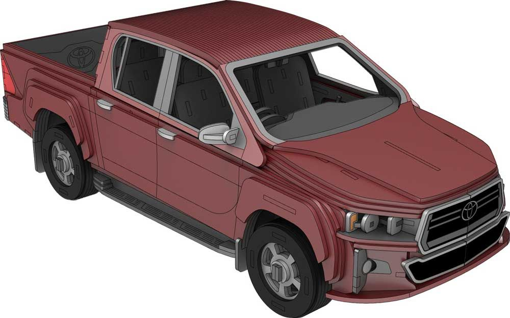 Toyota Hilux Automobile Toyota hilux, Compact trucks