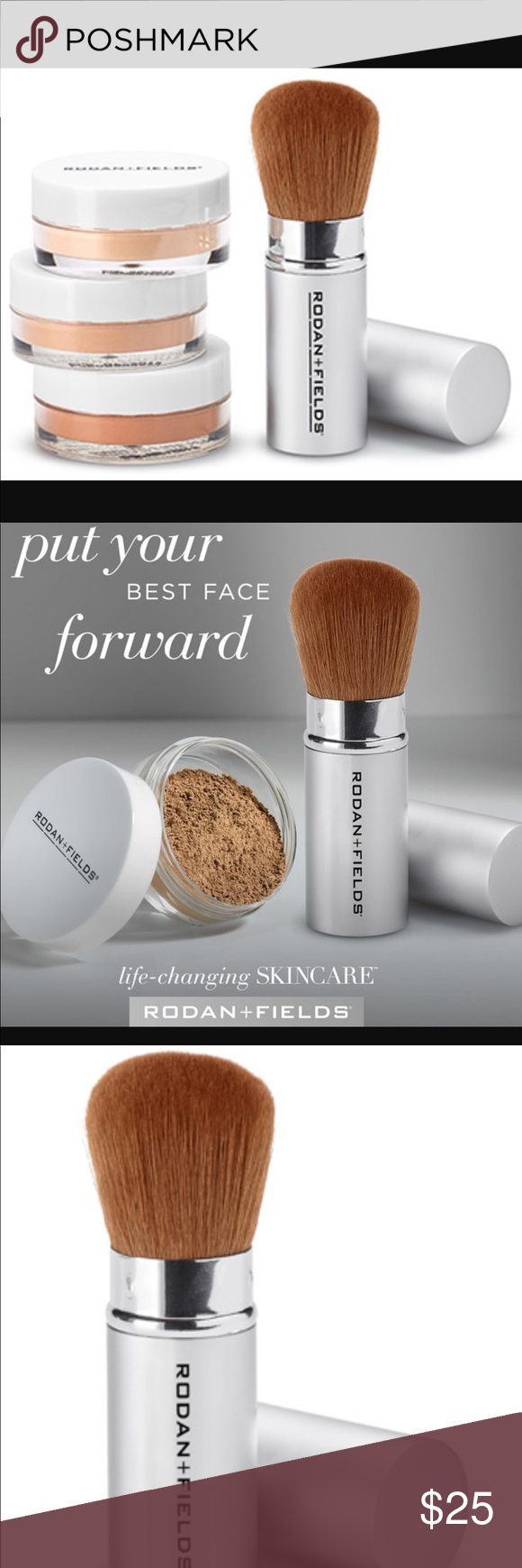 NEW peptides kabuki brush! ENHANCEMENTS Mineral Peptides