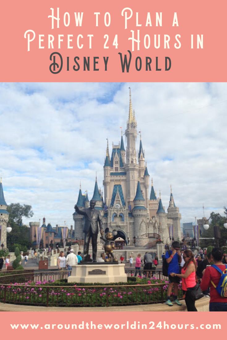 24 Hours Magic Kingdom Itinerary Florida Travel Guide Magic Kingdom Florida Travel Destinations