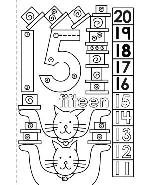Dot To Dot Number Book 11 20 Activity Coloring Pages 1 10 And 1 20 Also Available Coloring Pages Activities Free Math Printables