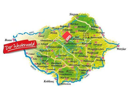 Westerwald Karte.Image Result For Westerwald Karte Germanic Central German
