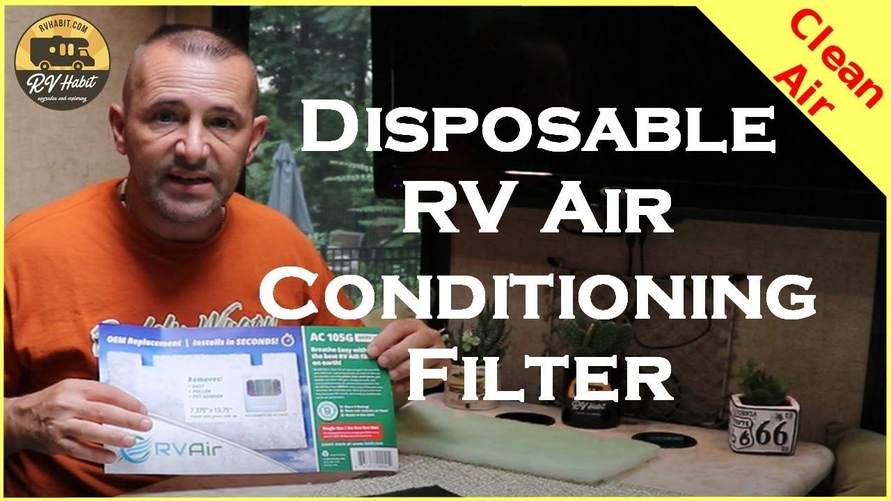 RV Air Conditioner Disposable Air Filter No More Mold