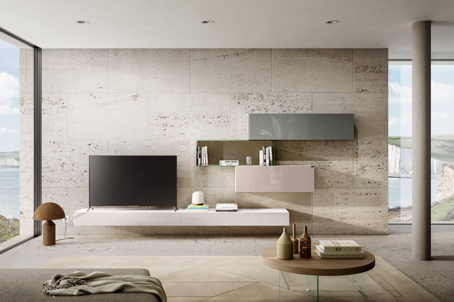 Photo of Parete Attrezzata 36e8 per il Soggiorno   LAGO Design