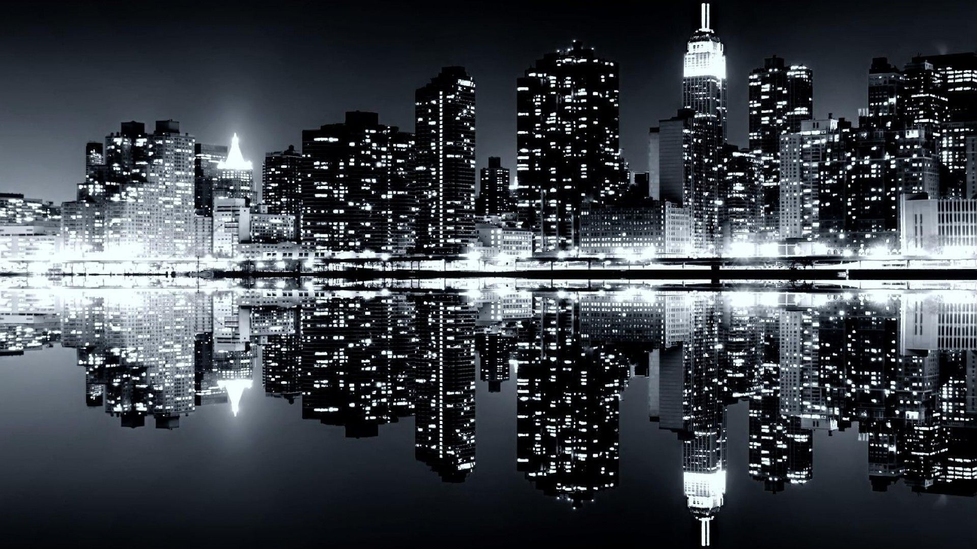 Widescreen desktop wallpapers group wallpapers pinterest city new york city black and white wallpaper widescreen voltagebd Gallery
