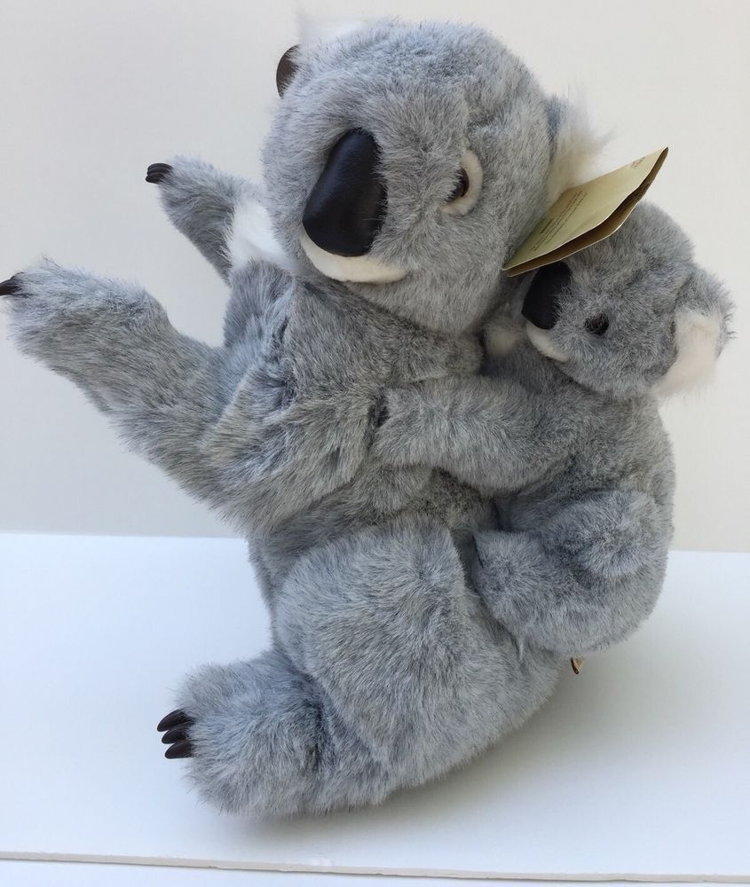 Scarborough Collection Plush Koala Bear And Baby Stuffed Animal