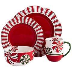 Candy Cane Dinnerware  sc 1 st  Pinterest & Candy Cane Dinnerware | ~~ Dinnerware ~~ | Pinterest | Candy canes ...