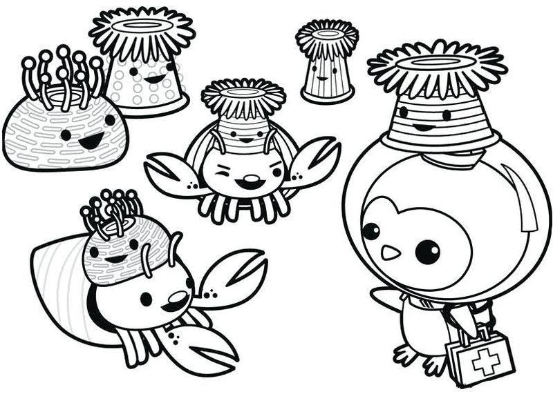 38+ Super coloring octonauts info