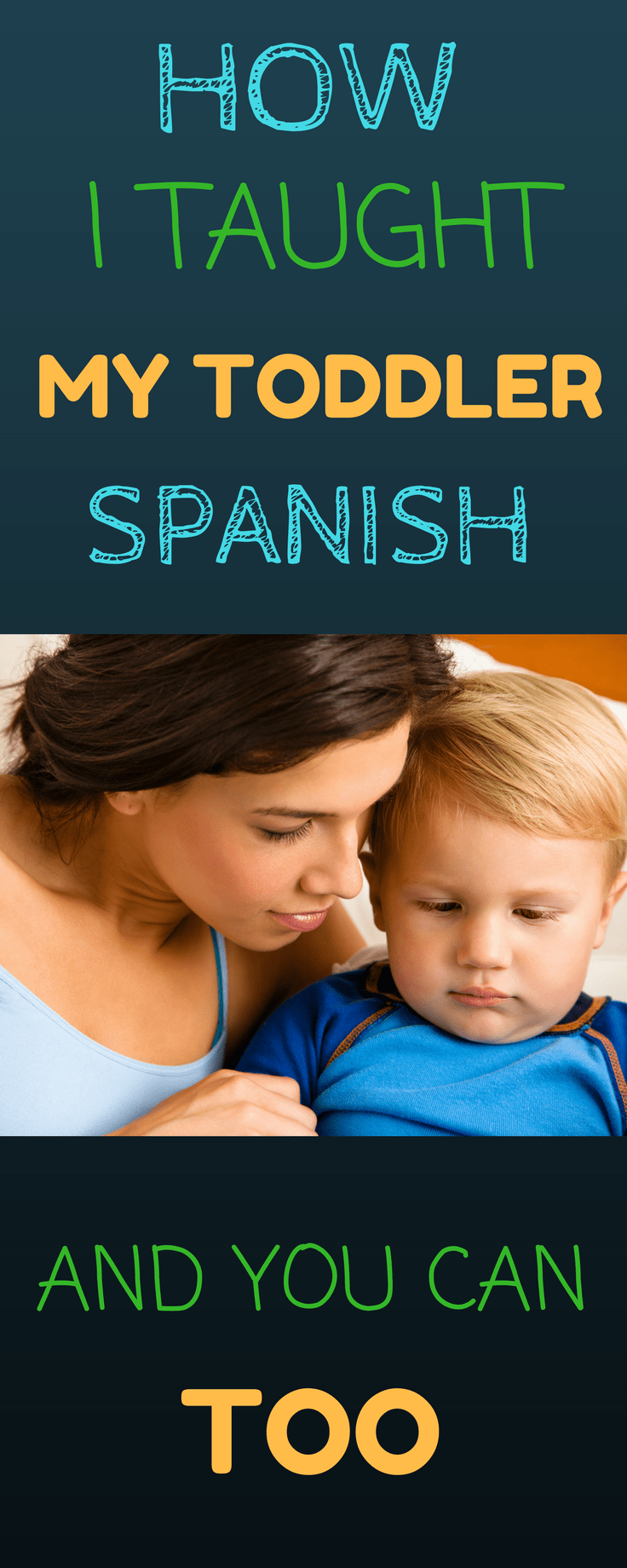 How I Taught My Toddler Spanish and You Can Too #spanishthings