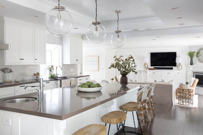 A Clean, Coastal Home in Costa Mesa, CA | Rue | Kitchens | Pinterest ...