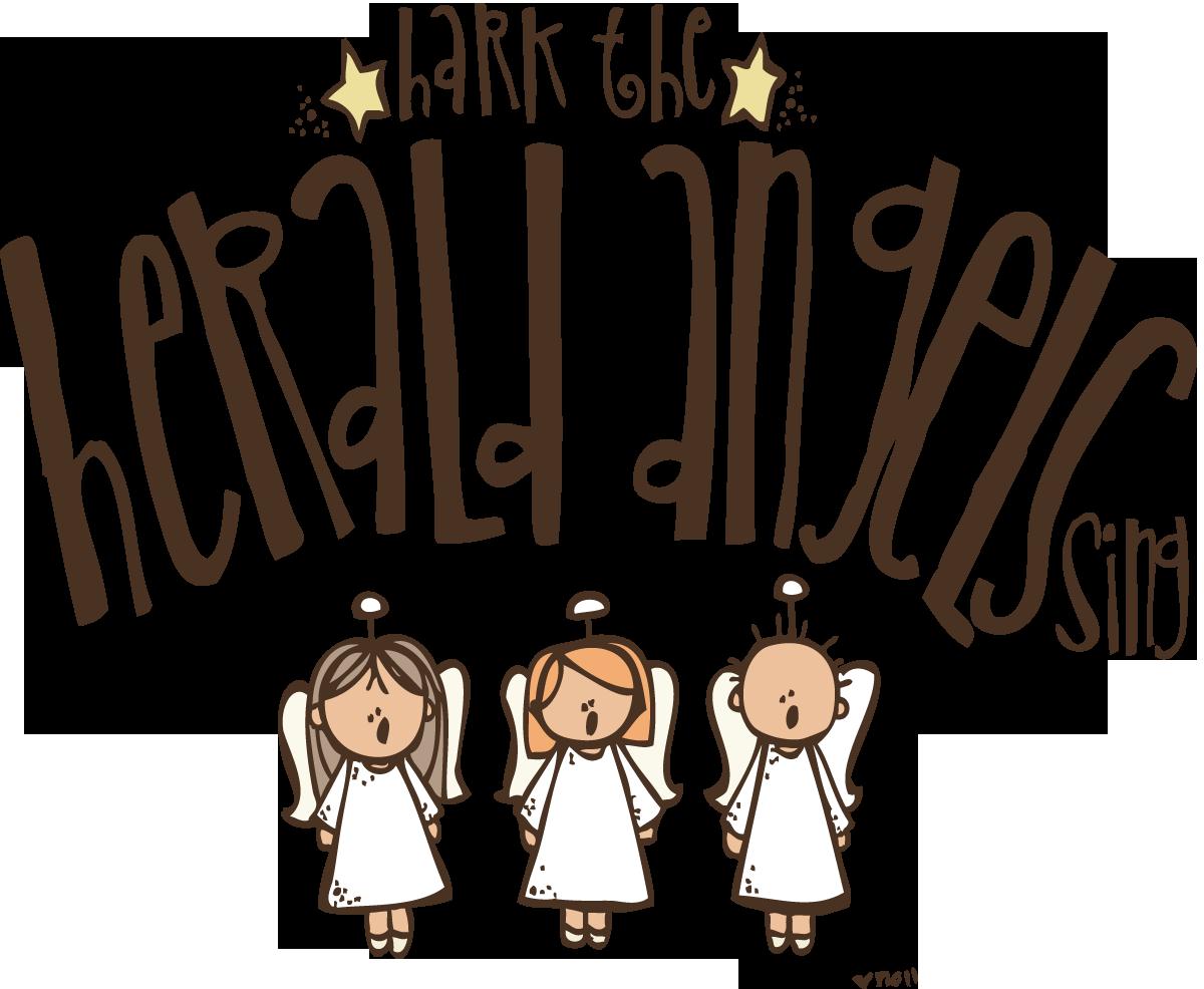 Melonheadz Lds Illustrating Hark The Herald Angels Sing