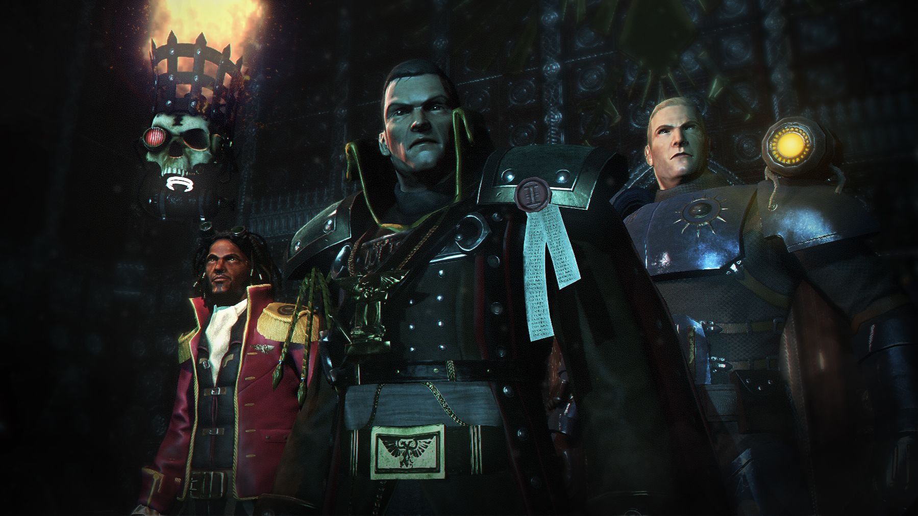 Eisenhorn XENOS is out on Steam and iOS