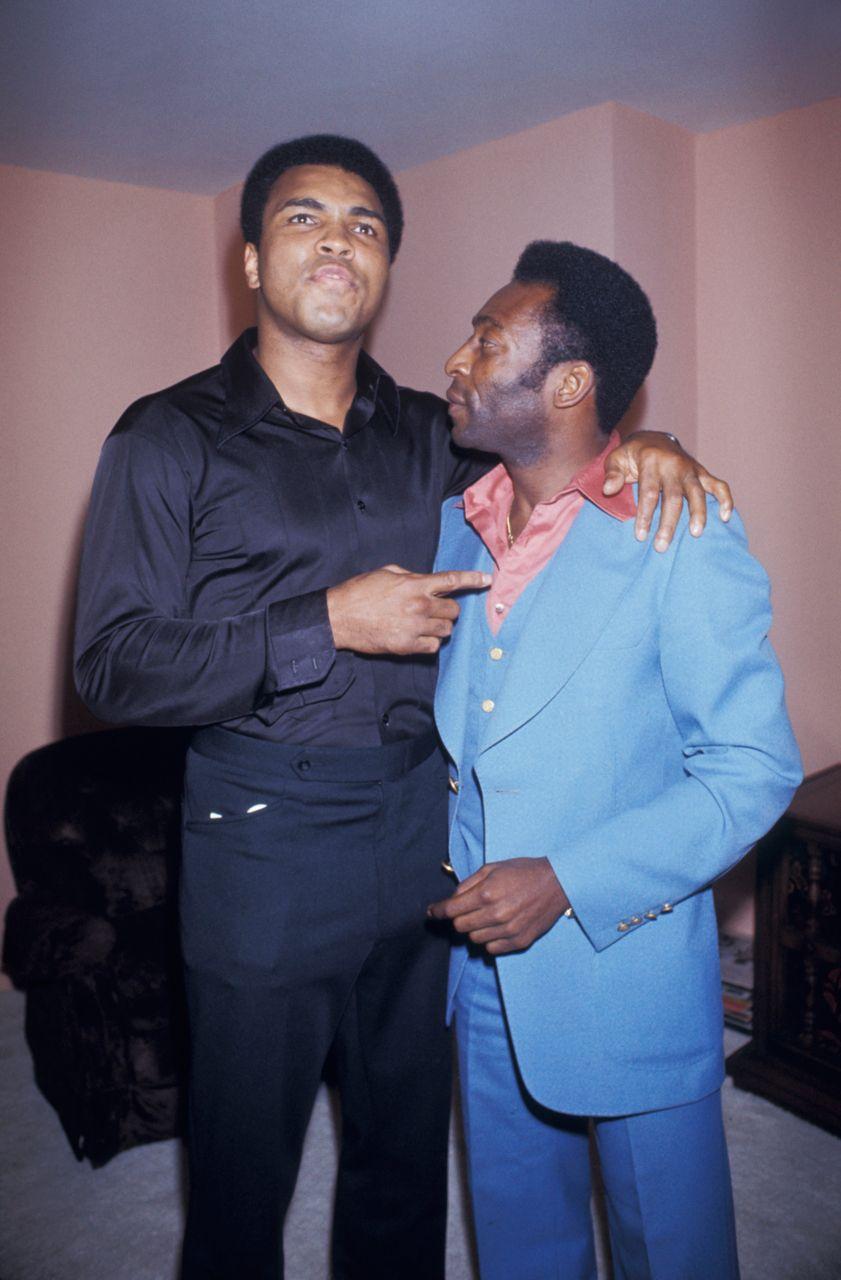 Muhammad Ali & Pelé