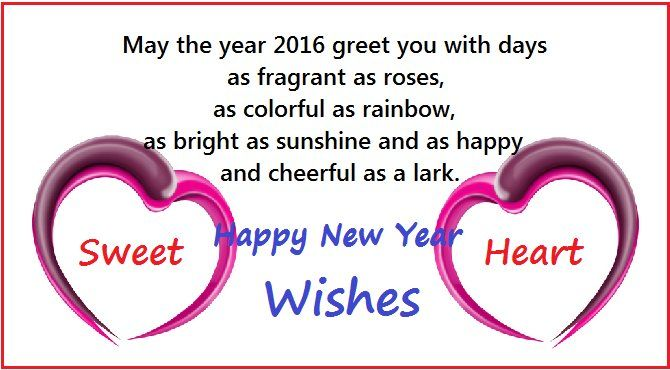 happy new year wishes for sweetheart today i am going to share new year wishes messages for sweet heart you can send these free of cost must read
