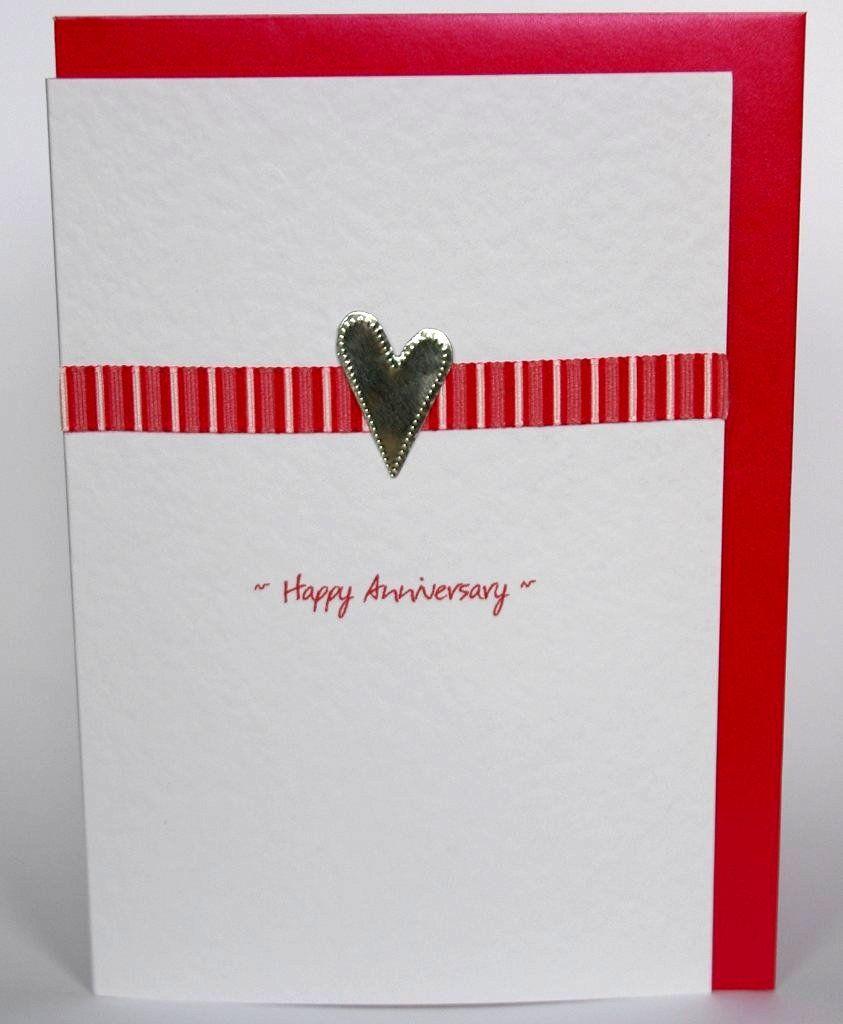 Image Detail For Handmade Anniversary Card Handmade Greeting Card