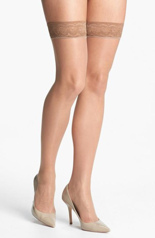 3b19865625 10 Thigh Highs That Will Stay Up: No-Slip Lace