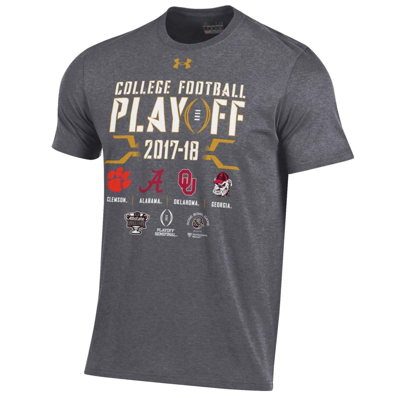 2018 College Football Playoffs Under Armour 4 Team Logo ...