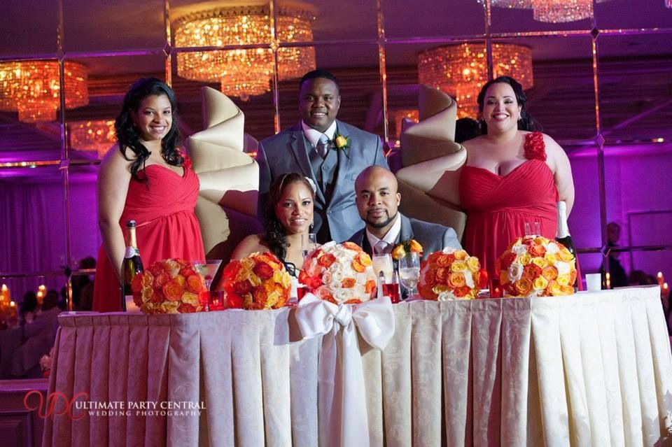 Wedding photography & DJs at Royal Manor in Garfield, NJ provided by Ultimate Party Central - toast