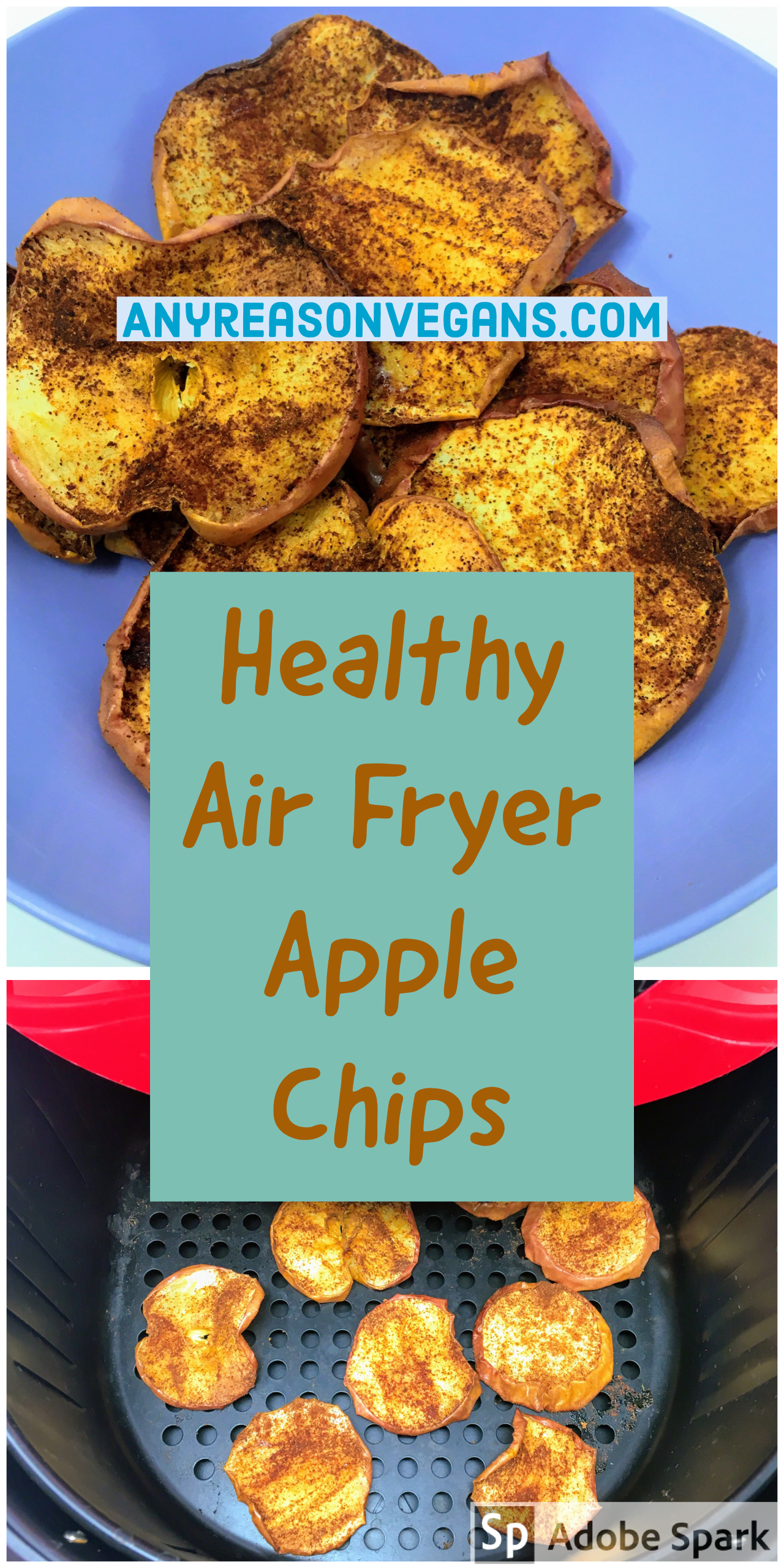 Air Fryer Apple Chips Recipe in 2020 Apple chips
