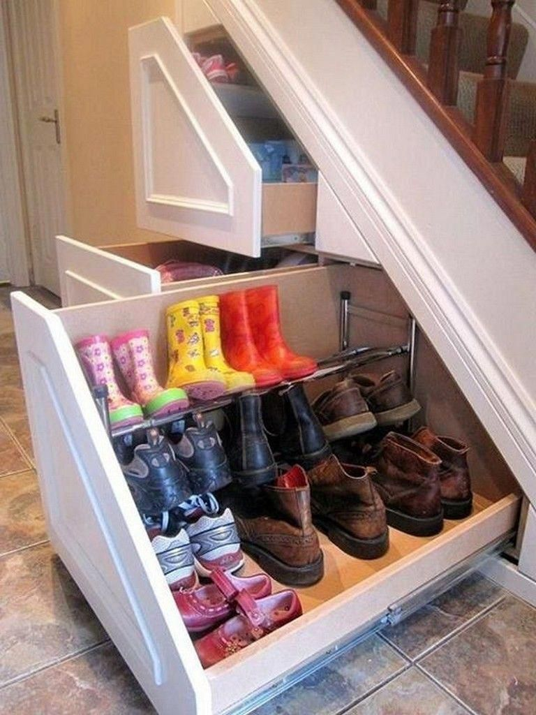 5 Smart Golden Rules For Small Spaces Closet Under Stairs Under