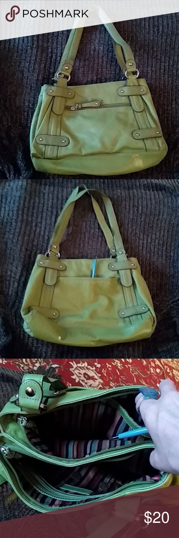 Injusto pureza perdonado  I just added this listing on Poshmark: Medium shoulder bag, granny smith  green. #shopmycloset #poshmark #fashion #shopping #style #for… | Clarks,  Shoulder bag, Bags
