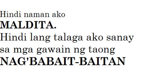 Pin by Joan Mamerto on The saying | Tagalog quotes hugot