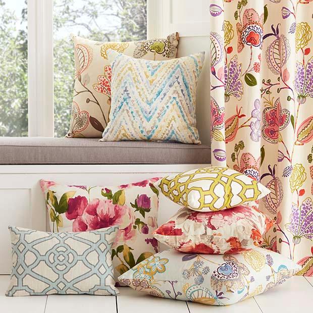 Warwick Fabrics Cornucopia Collection Upholstery And