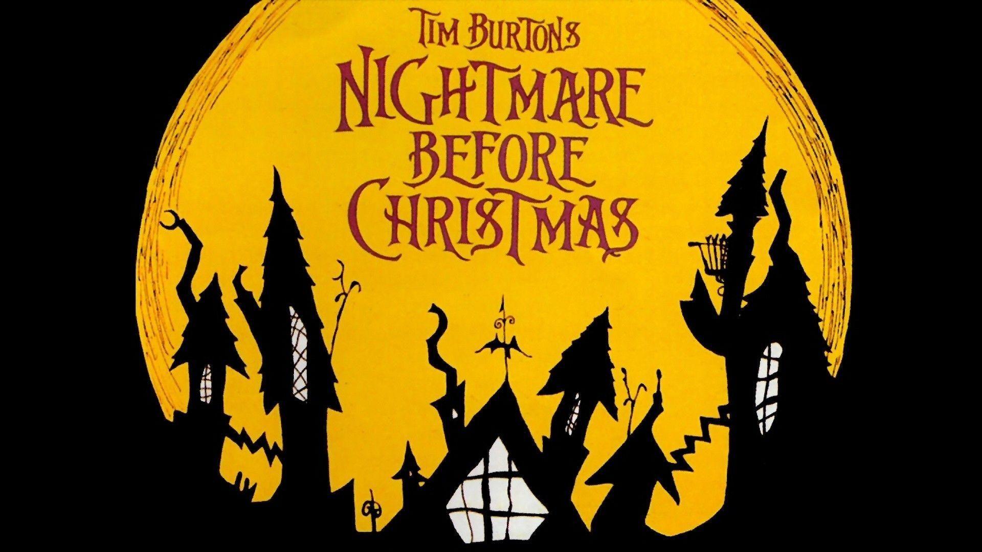 Nightmare Before Christmas Wallpaper in 2020 Nightmare
