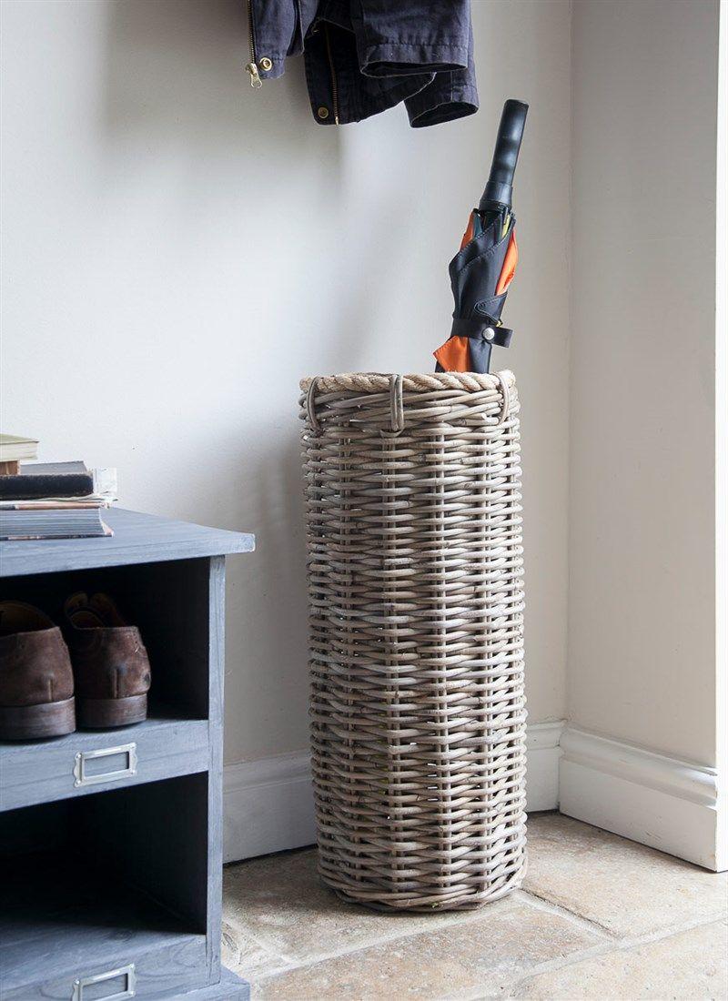 Hallway storage stand  Holkham Umbrella Stand  Shop Home  Pinterest  Rattan Mudroom and