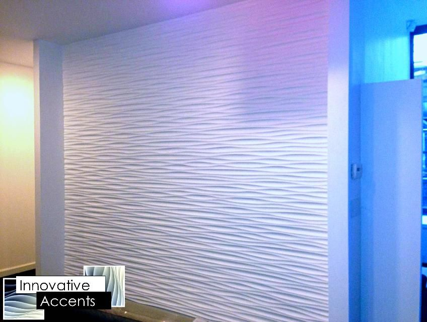Wall Panels From Innovative Accents Are At The Forefront Of Modern Sculpted  Paneling Design And Manufacture. Our Textured Wall Panels Can Be Applied As  Mono ...