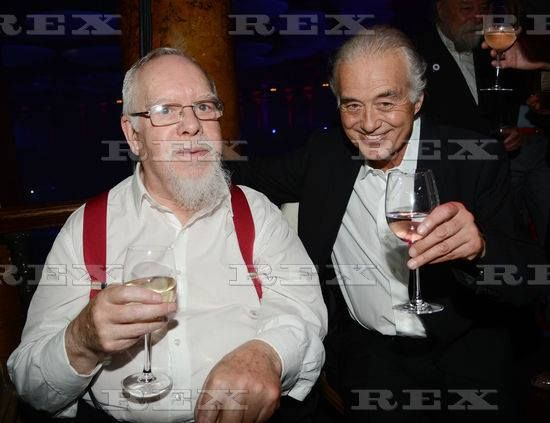 Jimmy Page and Sir Peter Blake, June 29, 2012