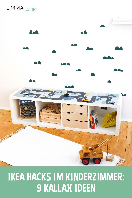 IKEA Hacks im Kinderzimmer - 9 KALLAX IDEEN