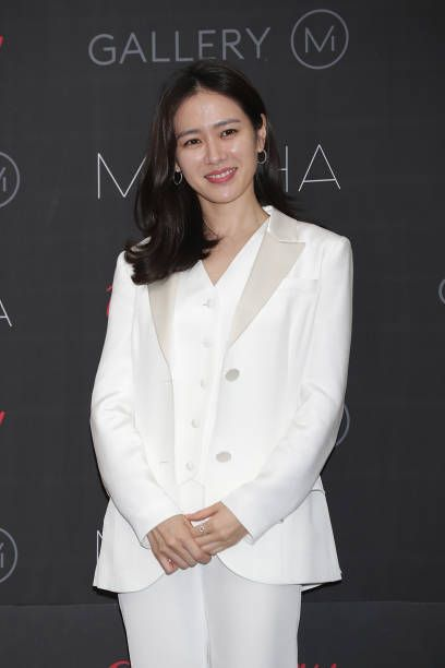 South Korean actress Son Ye-Jin attends the press